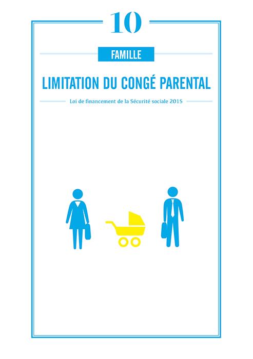 limitation du cong 233 parental 224 24 mois par parent au lieu de 36