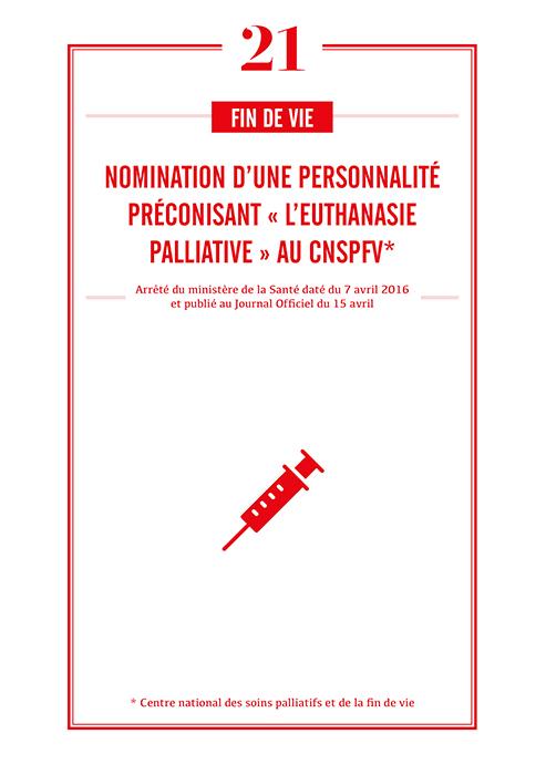 CNSPFV : nomination d'une personnalité préconisant « l'euthanasie palliative »