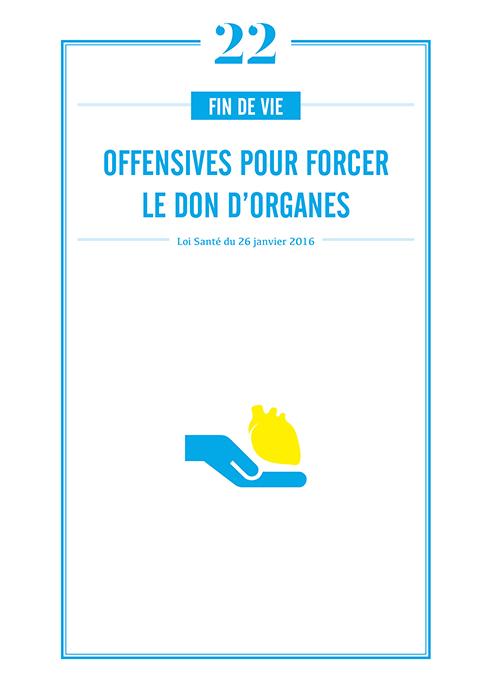 Don d organes : des offensives pour le forcer
