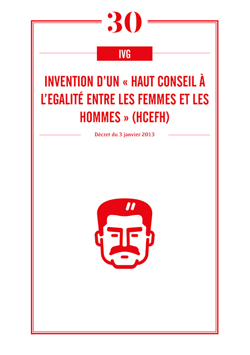 Invention d'un « Haut Conseil à l'égalité entre les femmes et les hommes » (HCEfh)