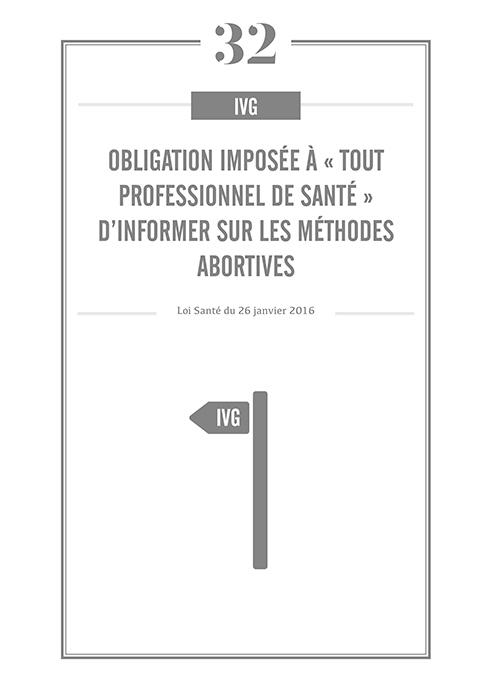 Obligation imposée à « tout professionnel de santé » d'informer sur les méthodes abortives