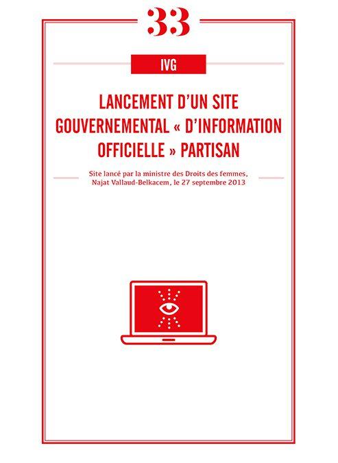 LANCEMENT D'UN SITE GOUVERNEMENTAL « D'INFORMATION OFFICIELLE » PARTISAN