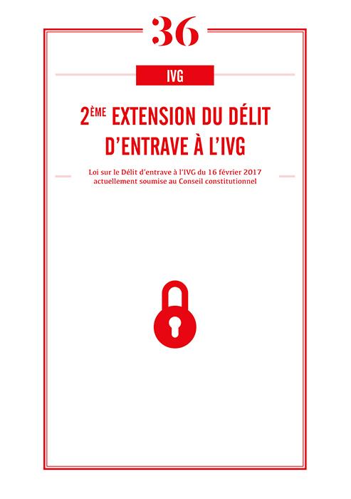 IVG : 2eme extension du délit d'entrave