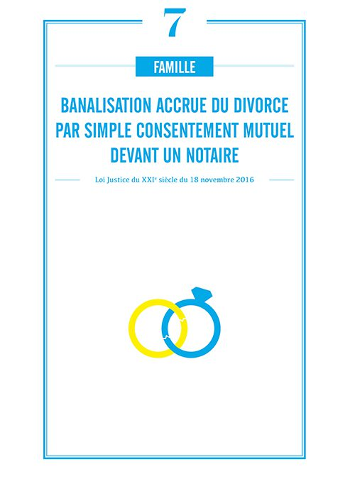 BANALISATION ACCRUE DU DIVORCE PAR SIMPLE CONSENTEMENT MUTUEL DEVANT UN NOTAIRE
